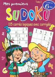 Mes premiers sudoku t.2 - Intérieur - Format classique