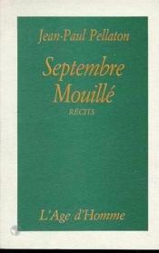 Septembre Mouille - Couverture - Format classique