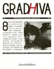 Revue Gradhiva N.8 - Couverture - Format classique