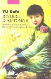 Rivière d'automne - Couverture - Format classique