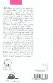 Rivière d'automne - 4ème de couverture - Format classique