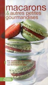 Macarons et autres petites gourmandises - Intérieur - Format classique