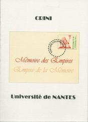 Mémoire des empires ; empire de la mémoire - Intérieur - Format classique