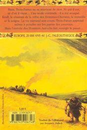 Guerre Des Cavernes (La) - 4ème de couverture - Format classique