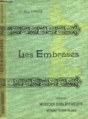Les Embrases. - Couverture - Format classique