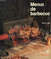 Menus De Barbecue - Couverture - Format classique