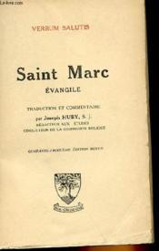 Verbum Salutis Ii - Saint Marc, Evangile - Couverture - Format classique