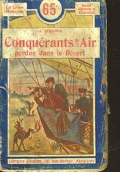 Conquerants De L'Air - Perdus Dans Le Desert - Couverture - Format classique