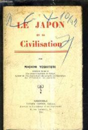 Le Japon Et Sa Civilisation. - Couverture - Format classique