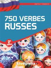 750 verbes russes (2e édition) - Couverture - Format classique