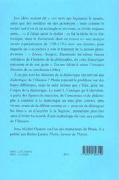 Illusion de la dialectique et dialectique de l'illusion - 4ème de couverture - Format classique