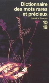 Dictionnaire des mots rares et precieux - Couverture - Format classique