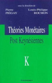 Theories Monetaires Post-Keynesiennes - Intérieur - Format classique