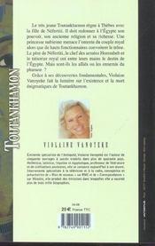 Toutankhamon - tome 3 le pharaon assassine - vol03 - 4ème de couverture - Format classique
