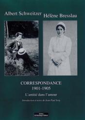 Correspondance tome 1 1901-1905 - Couverture - Format classique