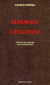 Hommage à la Catalogne - Couverture - Format classique
