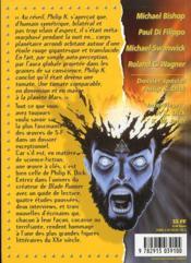 Spécial Philip K. Dick - 4ème de couverture - Format classique