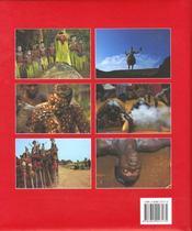 Afrique - La Magie Dans L'Ame - 4ème de couverture - Format classique