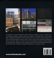 L'architecture des appartements d'aujourd'hui - 4ème de couverture - Format classique