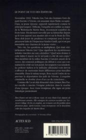 Lune trompeuse - 4ème de couverture - Format classique