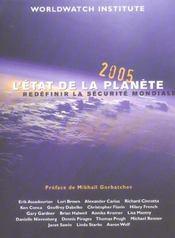 L'Etat De La Planete 2005 ; Redefinir La Securite Mondiale - Intérieur - Format classique