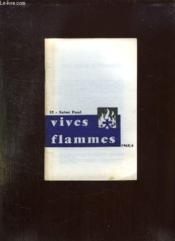 Vives Flammes N° 52 Avril 1968. Saint Paul. - Couverture - Format classique