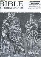 Bible Et Terre Sainte, N° 168, Fev. 1975 - Couverture - Format classique