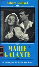Marie Galante - Tome 3 - Couverture - Format classique