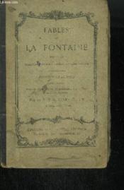 FABLES DE LA FONTAINE SUIVIES DE QUELQUES MORCEAUX CHOISIS DU MEME AUTEUR - EDITION CLASSIQUE - 15ieme édition - Couverture - Format classique