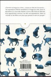 Expressions félines expliquées - 4ème de couverture - Format classique