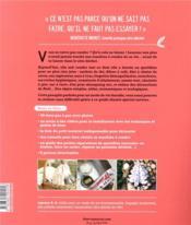 Couture zéro dechet, je me lance ! 30 objets réutilisables pour un mode de vie durable - 4ème de couverture - Format classique