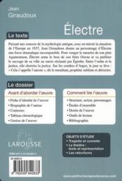 Electre - Couverture - Format classique