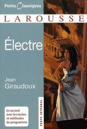 Electre - Intérieur - Format classique
