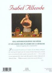 Aphrodite - 4ème de couverture - Format classique