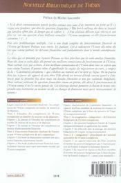 Recherches sur l'autonomie financiere de l'union europeenne - 4ème de couverture - Format classique