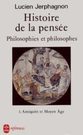 Histoire De La Pensee (Tome 1) - Couverture - Format classique