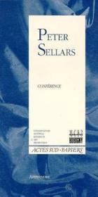 Apprendre t.1 ; Peter Sellars ; théâtre et histoire contemporains - Couverture - Format classique