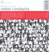 Roman Cieslewicz - 4ème de couverture - Format classique