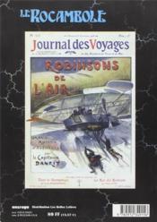 Revue Rocambole N.15 ; Les Aventuriers Du Pöle Nord - 4ème de couverture - Format classique