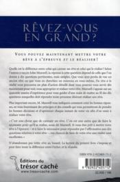 Du rêve à la réalité ; dix questions pour mettre votre rêve à l'épreuve et le concrétiser - 4ème de couverture - Format classique