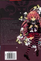 Kiss of rose princess t.8 - 4ème de couverture - Format classique
