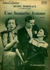 Une Honnete Femme. Collection : Select Collection N° 116 - Couverture - Format classique