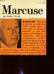 Marcuse - Couverture - Format classique