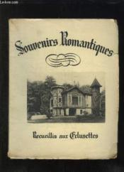 Souvenirs Romantiques. Recueillis Aux Eclusettes. - Couverture - Format classique
