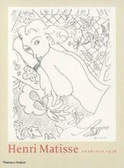 Henri matisse drawings 1936 - Couverture - Format classique