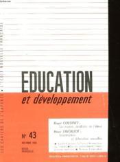 Education Et Developpement N°43 - Couverture - Format classique