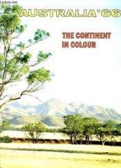Australia'66 - The Continent In Colour - Couverture - Format classique