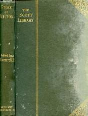 Prose Of Milton - Couverture - Format classique