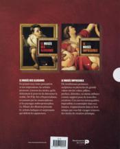 Musées (des illusions & impossible) ; coffret - 4ème de couverture - Format classique