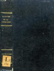 Histoire Elementaire Et Critique De La Litterature, Litteratures Du Midi (Italie, Espagne Et Portugal) - Couverture - Format classique